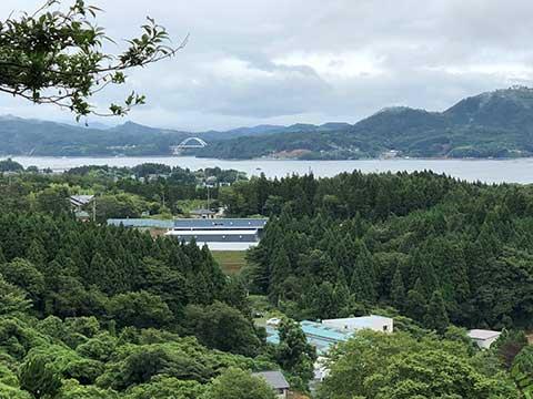気仙沼カントリークラブからの眺め